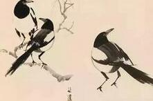 徐悲鸿手稿教你画国画花鸟,值得收藏!