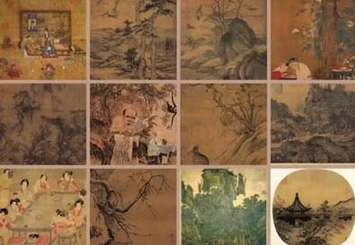 蒋介石带走的12幅国宝级古画,一起来看看吧!