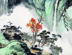 何香凝新中国的创始人,也是著名的国画大家