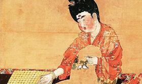 为什么说唐代化妆术领先世界几千年 《唐人宫乐图》