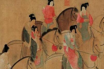 从昭陵壁画一窥中国唐代女性发式和仪容方面的华美婀娜