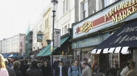 伦敦最大的中国古董市场火起来了 其中不乏真品