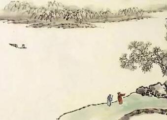 《芥子园画谱》精选山水28幅欣赏!