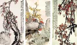 吴昌硕和他的十三高足作品欣赏