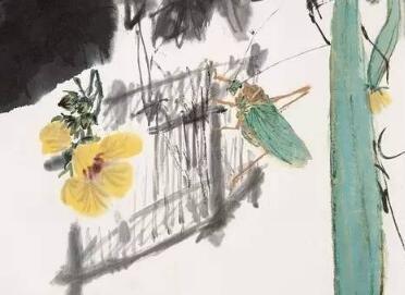 王雪涛小写意花卉草虫欣赏