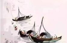 吴冠中笔下的船,诗与画之美于此悄悄相依