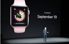 新款苹果智能手表评测令人失望  股价周三盘中下跌逾2%