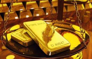 受到美元汇率强劲上涨影响  黄金期货价格跌幅为1.3%