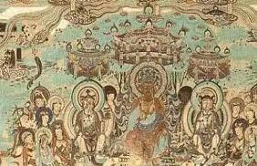 敦煌石窟珍贵壁画手稿欣赏|精美绝伦