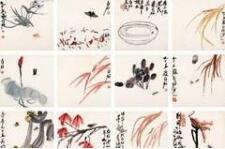 齐白石最全高清草虫图:自养草虫,观察入微
