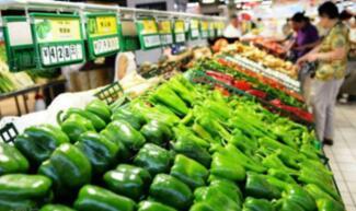 居民消费价格指数(CPI)环比持平,同比上涨1.7%