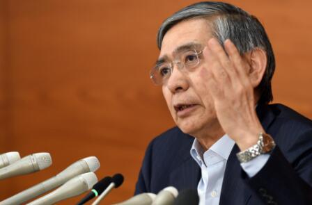 日本央行行长黑田东彦:比特币并不是一种正常的支付方式 是投机对象