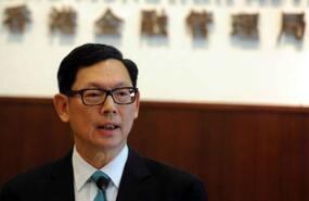 香港金管局总裁陈德霖:外管局正在研究债券通项目的基础设施和制度安排
