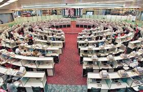 早盘:港股一片涨势  恒生国企指数大涨2.24%