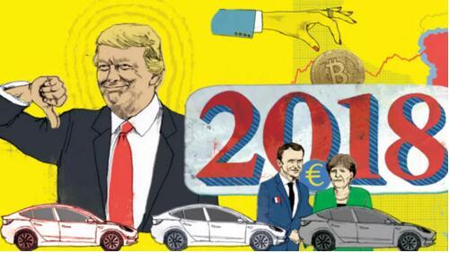 2018年全球大事预测:特朗普会被弹劾吗?特里萨•梅会继续任英国首相吗?