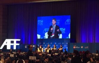 朱民:技术、人工智能,环境问题这些都会成为巨大的产业