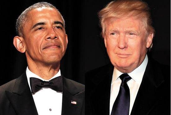 美媒:奥巴马将在2018年重新进军政坛  特朗普将寝食难安