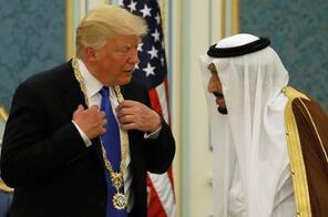 """""""美国队长""""变身为追逐利益的""""美国商人"""" ——特朗普在中东动作频频"""