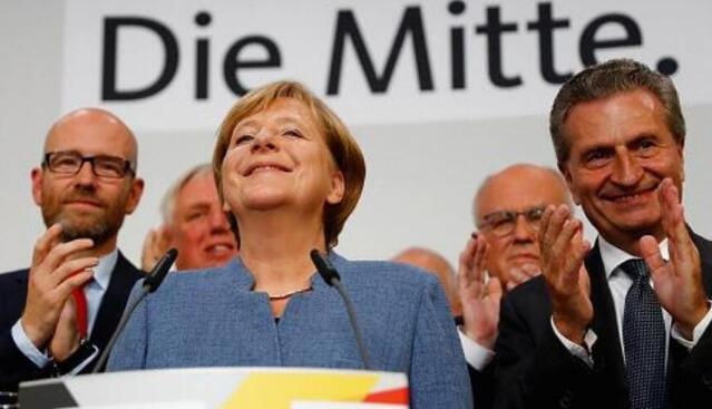 德国社民党同意与默克尔领导的联盟党开启组阁谈判