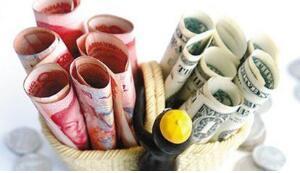 人民币兑美元中间价调升93个基点,报6.3916