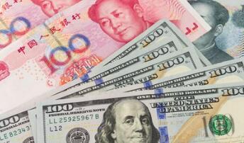 人民币兑美元中间价调贬134个基点,报6.3019