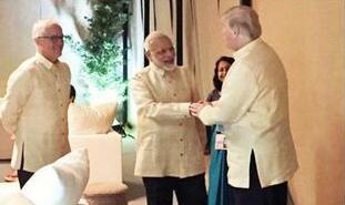 """美国、日本、澳大利亚、印度四国正探讨""""一带一路""""替代方案"""