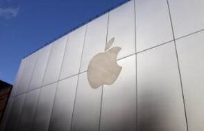 苹果盘中股价一度冲上182.39美元点 市值则超过9250亿美元