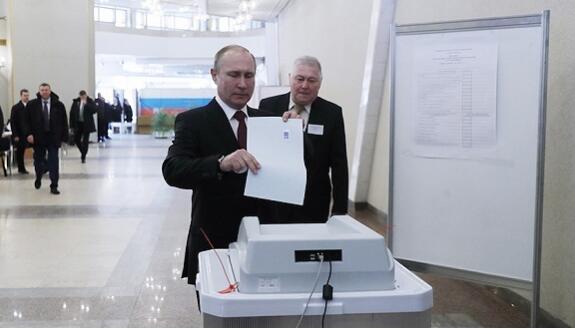 俄罗斯中央选举委员会:普京以73.73%的得票率保持领先