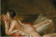 法国美术院院长布歇千姿百态的油画作品