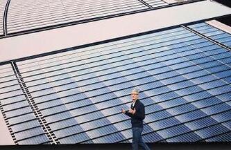 苹果宣布公司所有设施全部使用可再生能源