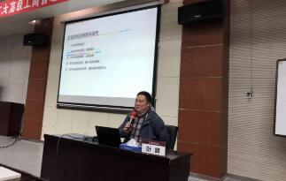 叶峰博士为哈工大企业家传经布道