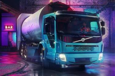 沃尔沃电动卡车FE将于明年开始在德国街头进行垃圾清理工作