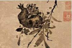 齐白石: 恨不生三百年前,为青藤磨墨理纸
