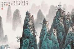白雪石的山水画令人神往,赏60幅最美山水!