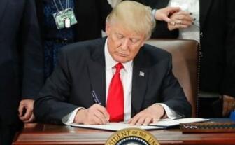 特朗普27日发表声明:支持国会立法限制外国实体收购美国关键技术