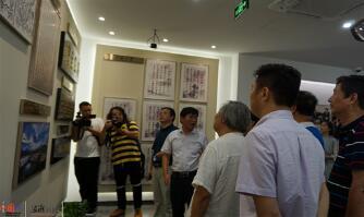 浙江:总书记曾经关注的贫困村如今风景秀丽 勾起了书画家的创作欲望