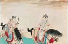 张大千等大师笔下的历史人物故事画都与众不同!