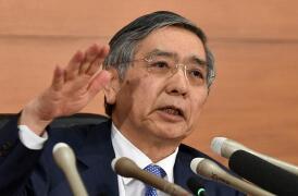 日本央行行长黑田东彦:美国利率上升  反映美国经济的强势