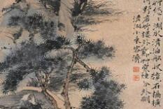 清 石涛山水画作品集高清 (一)