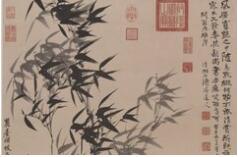 石涛花鸟画——竹石篇欣赏