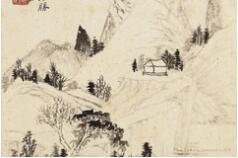 清 石涛 山水图册欣赏