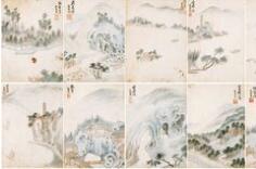 明 苏松派画代表人物 宋懋晋《西湖胜迹图》册页欣赏