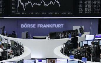 欧洲股市周一收盘走高 泛欧斯托克600指数暂时收涨0.57%