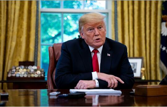 特朗普:如果世界贸易组织不能更好地对待美国,美国会退出WTO