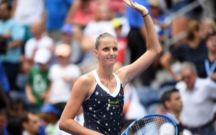 2018赛季美国网球公开赛:普利斯科娃跻身八强  她的诀窍就是不想太多