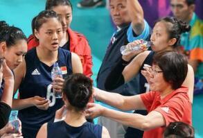 """中国女排时隔八年再次夺得亚运会冠军 世锦赛才是压轴""""大戏"""""""