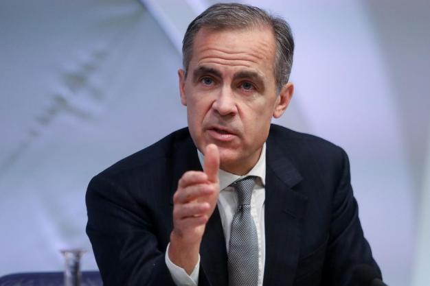 英国央行行长卡尼:英国央行将无法以降息手段抵消无协议退欧的经济影响