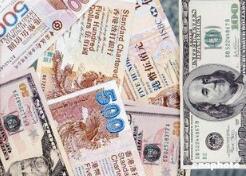 港元对美元短线快速拉升  升破7.80关口