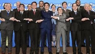 《区域全面经济伙伴关系协定》(RCEP)部长级会议在新加坡举行