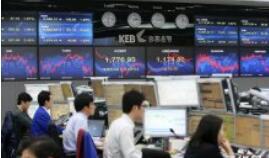韩国KOSPI指数收盘跌1.6%,至2,063.30点